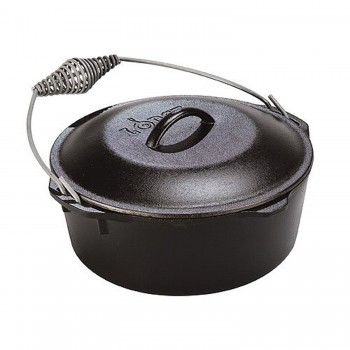 Lodge Dutch Oven 7 Quart / 6.6 Liter mit Henkel