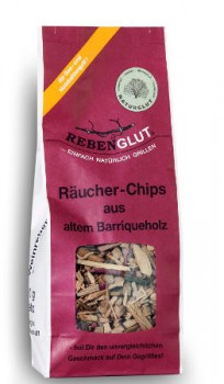Räucherchips aus altem Barriqueholz