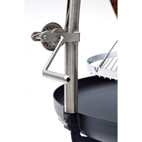 bal grill 100 mit h nger winde und rundem edelstahl rost grill shop scheidegger. Black Bedroom Furniture Sets. Home Design Ideas