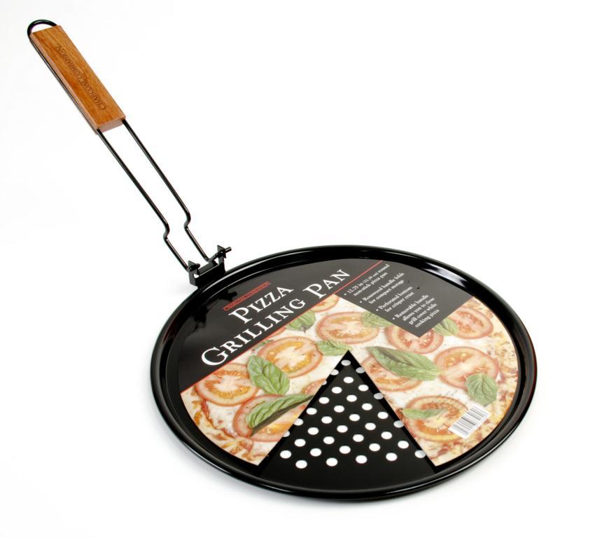grill pizzapfanne gem sepfanne mit abnehmbaren griff grill shop scheidegger. Black Bedroom Furniture Sets. Home Design Ideas