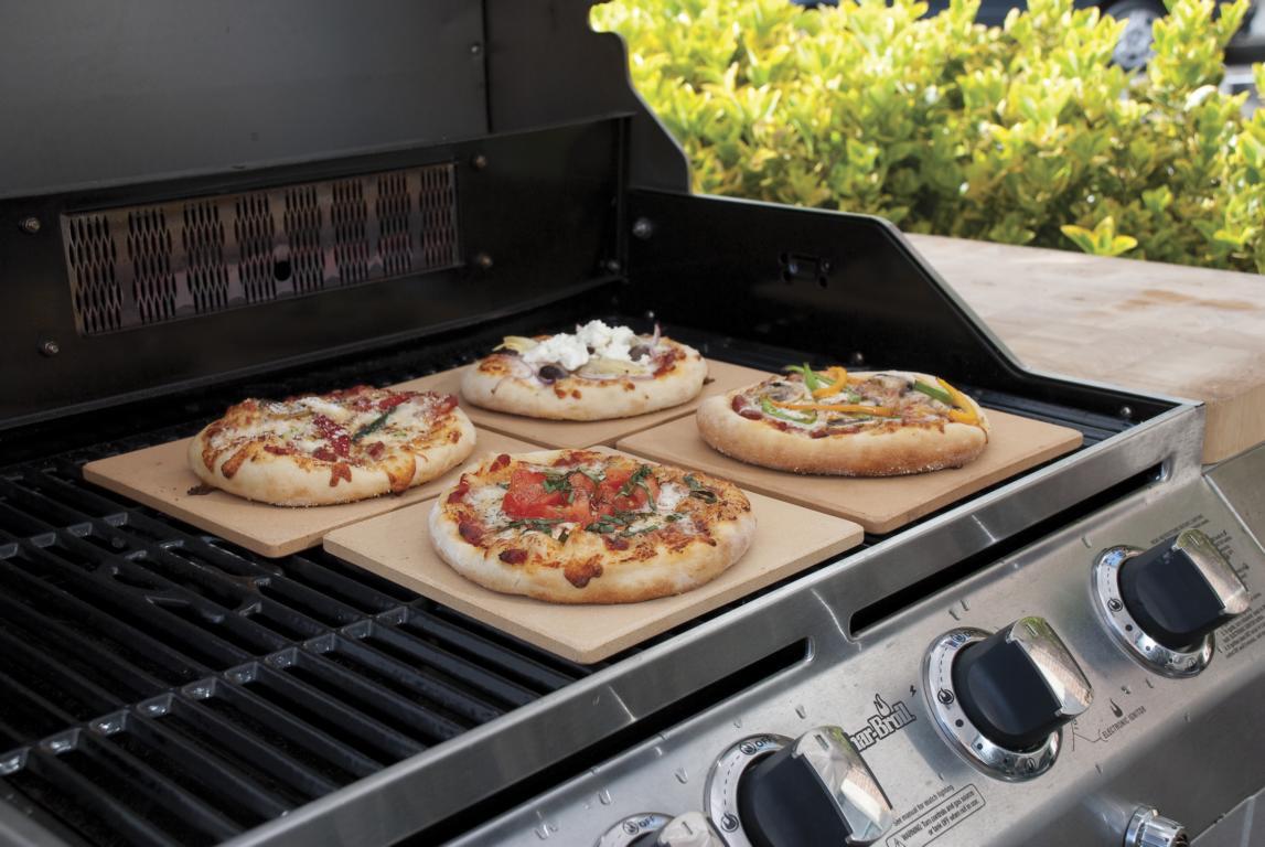 Rösle Gasgrill Pizzastein : Pizza stein quatratisch 19 x 19 cm 4er set grill shop scheidegger